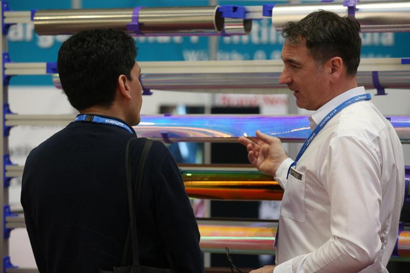 Visitor to stand at Sign & Digital Uk 2018
