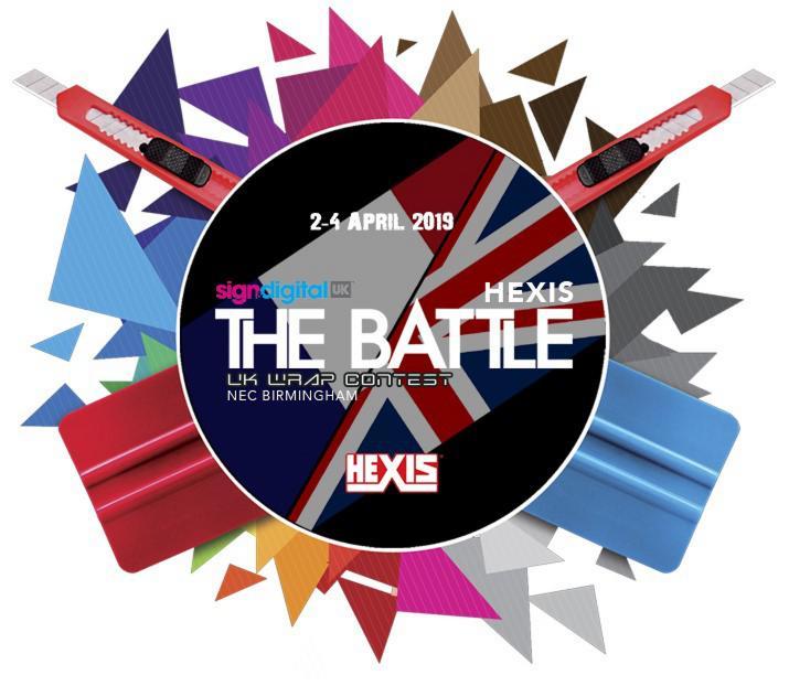 dce3b1465b HEXIS Battle Wrap Contest - Sign   Digital 2019 - signage
