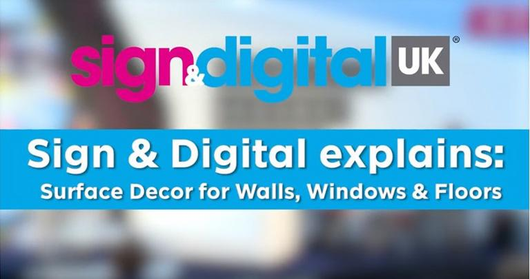 Sign & Digital Explains: Surface Decor for Walls, Windows and Floors